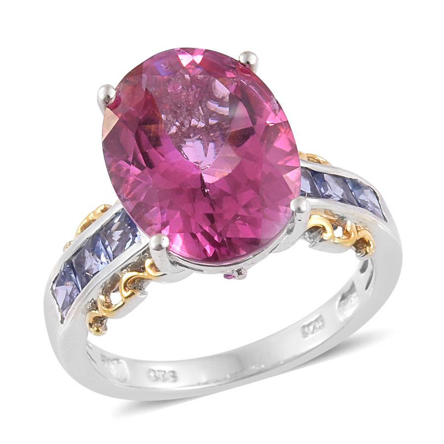 Pure Pink Mystic Topaz, Tanzanite, Madagascar Pink Sapphire 14K YG ...