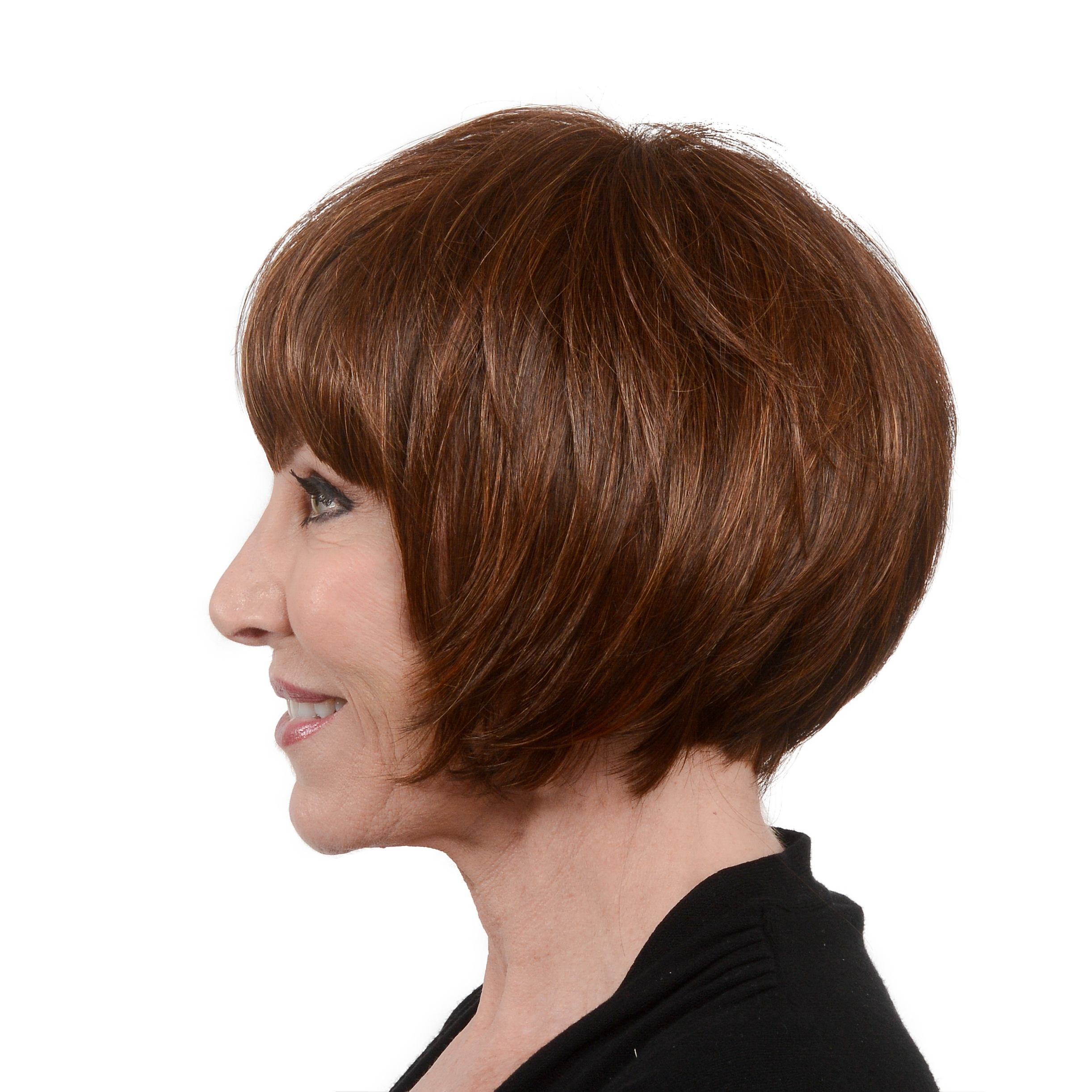 Easy Wear Hair Le Bob Wig - Light Auburn