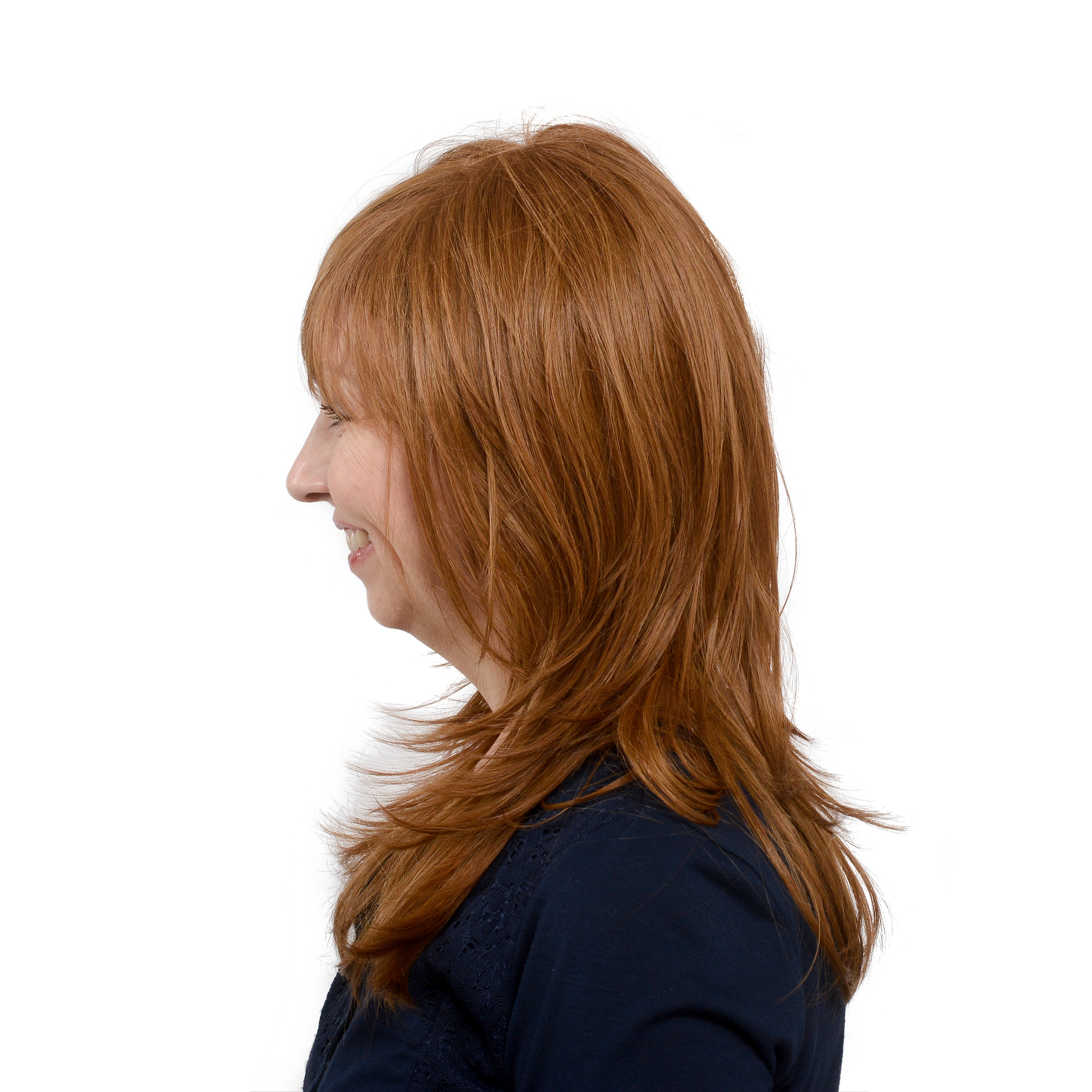 Light Shop Near Auburn: Easy Wear Hair Femme Fatale Wig - Light Auburn