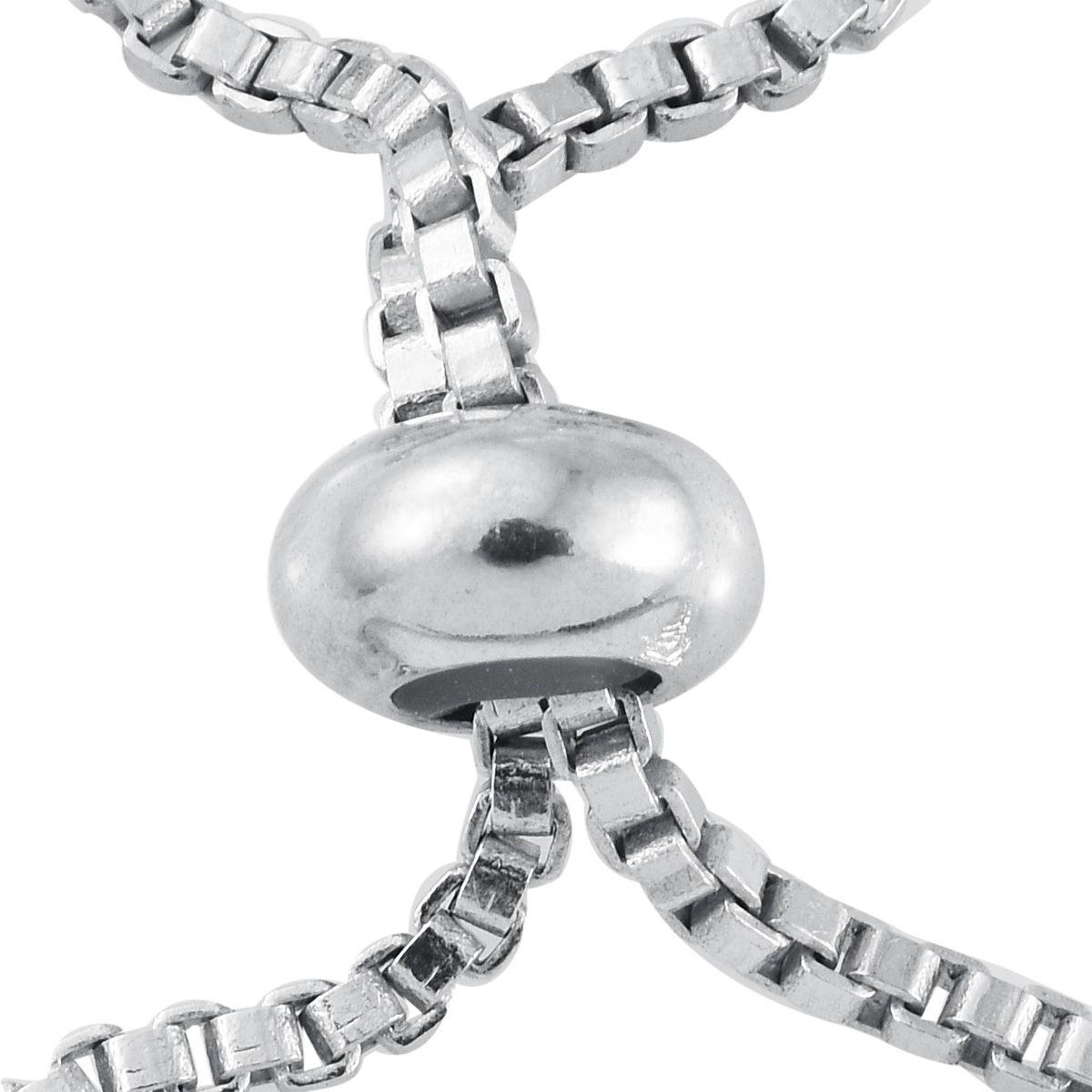 Karis collection platinum bond brass bracelet with magic for Swarovski jewelry online store