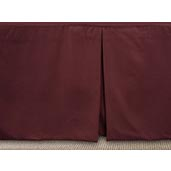 J Francis Hotel Collection - Plum Bed Skirt - Queen