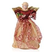 Burgundy Angel Tree Topper (12 in)
