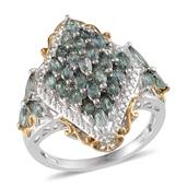 Narsipatnam Alexandrite 14K YG and Platinum Over Sterling Silver Ring (Size 6.5) TGW 3.000 cts.