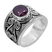 Bali Legacy Collection Niassa Ruby Sterling Silver Ring (Size 7.0) TGW 3.540 cts.