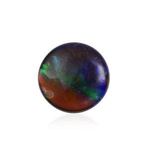 Canadian Ammolite (Rnd 8 mm) TGW 1.30 Cts.
