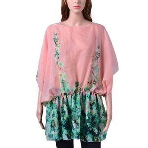 Pink 100% Polyester Tunic (28x28 in)