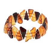 Baltic Multi Color Amber Bracelet (Stretchable)