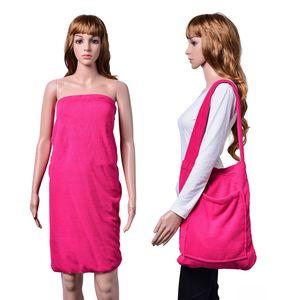 2 in 1 Fuchsia Beach Towel Or Shoulder Bag (60x30 in)