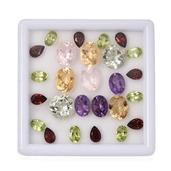 Multi Gemstone Assorted Box (Mix Mix mm) TGW 25.10 Cts.