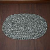 Brown Jute Braided Rug (30x 20 in)