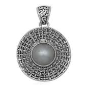 Pearl Expressions Mabe Pearl Sterling Silver Pendant without Chain