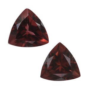 Umba River Zircon Set of 2 (Trl 6 mm) TGW 2.02 Cts.