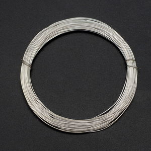 LC DIY Silvertone Wire (Approx 10 mtr, 0.08 mm)