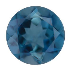 London Blue Topaz (Rnd 10 mm) TGW 3.94 cts.