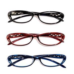 DOD Set of 3 Deco Readers Glasses + 2.0