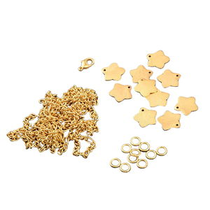 LC DIY Star Charms Goldtone Bracelet Kit