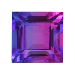 Midnight Fuchsia Quartz (Sqr 15 mm) TGW 16.10 cts.