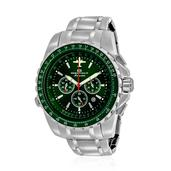 OCEANAUT Japanese Movement Water Resistant Men's Watch with Stainless Steel Strap & Back