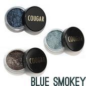 Cougar Beauty Smokey Blue Eye Shadow Trio With Brush