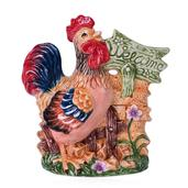 Ceramic Rooster Kitchenware Container (7x5x3 in)