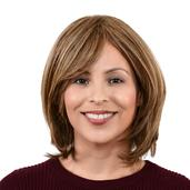 Easy Wear Hair Mid Length Layered Wig - Light Ash Brown