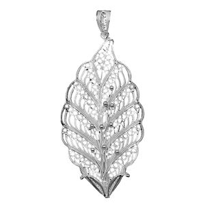 Bali Legacy Collection Sterling Silver Pendant without Chain (5.3 g)