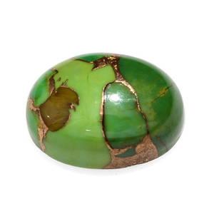 Mojave Green Turquoise (Ovl 14x10 mm) TGW 5.24 Cts.