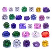 Multi Color Simulated Diamond Set (MIX Mix mm)