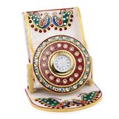Handcrafted Marble Watch with Mobile Holder