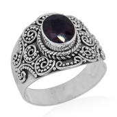 Bali Legacy Collection Niassa Ruby Sterling Silver Ring (Size 6.0) TGW 2.65 cts.