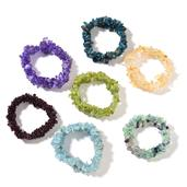 MEGA CLEARANCE Aquamarine chips Bracelets (Stretchable) TGW 1619.50 cts.