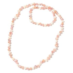 Freshwater Multi Color Pearl Endless Necklace (30 in)