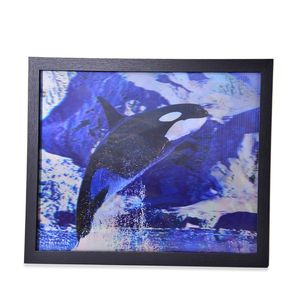 Marine Life 3D Painting with Photo Frame (16.7x12.7 in)