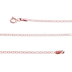 14K RG Over Sterling Silver Mariner Chain (30 in, 2.8 g)