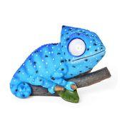 Blue LED Solar Chameleon Light (5.9x3.15x4.33 in)