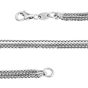 Sterling Silver Popcorn Chain (20 in)