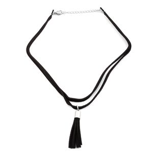 Genuine Leather Necklace (15 in)