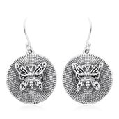 Artisan Crafted Sterling Silver Earrings (4.9 g)