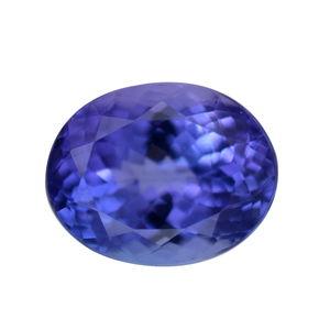 Tanzanite (Ovl 10x8 mm 3A) TGW 2.34 cts.