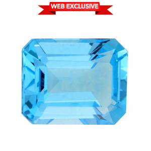 Electric Swiss Blue Topaz (Oct 10x8 mm) TGW 3.50 cts.