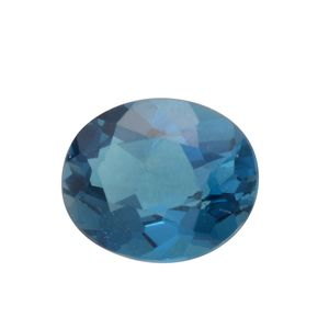 London Blue Topaz (Ovl 11x9 mm) TGW 4.02 cts.