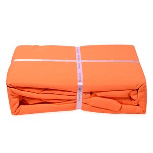 Premier Colorful Collections- Neon Orange 100% Microfiber Wrinkle-Resistant Sheet Set (Twin/Twin XL)