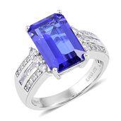 ILIANA 18K WG Premium AAA Tanzanite, Diamond Ring (Size 7.0) TDiaWt 0.47 cts, TGW 5.97 cts.