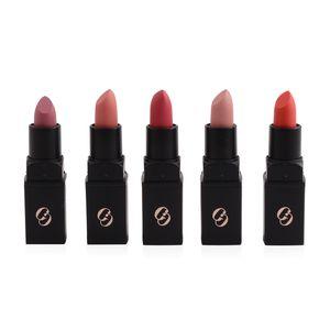 MGI Matte Lipstick 5 Pc Set (Fashionista, Selfie Queen, Free Kisses, Stuck on You, No Shame)