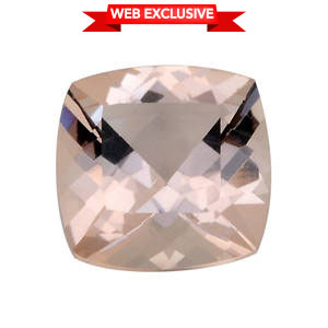 Marropino Morganite (Cush 8x8 mm) TGW 1.80 cts.