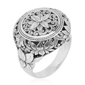 Bali Legacy Collection Sterling Silver Ring (Size 6.0)
