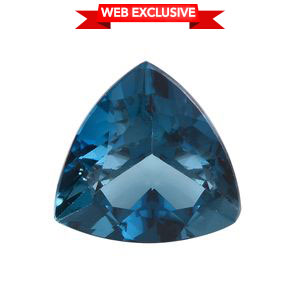 London Blue Topaz (Trl 15 mm) TGW 11.51 cts.