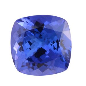 Premium AAA Tanzanite (Cushion 9 mm) TGW 3.04 cts.