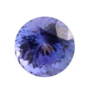 Tanzanite Round 8 mm 3A TGW 2.71 cts.
