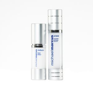 Michael Marcus Peptide Wrinkle Serum (1.7 oz) and Reduce Line Filler (1 oz)